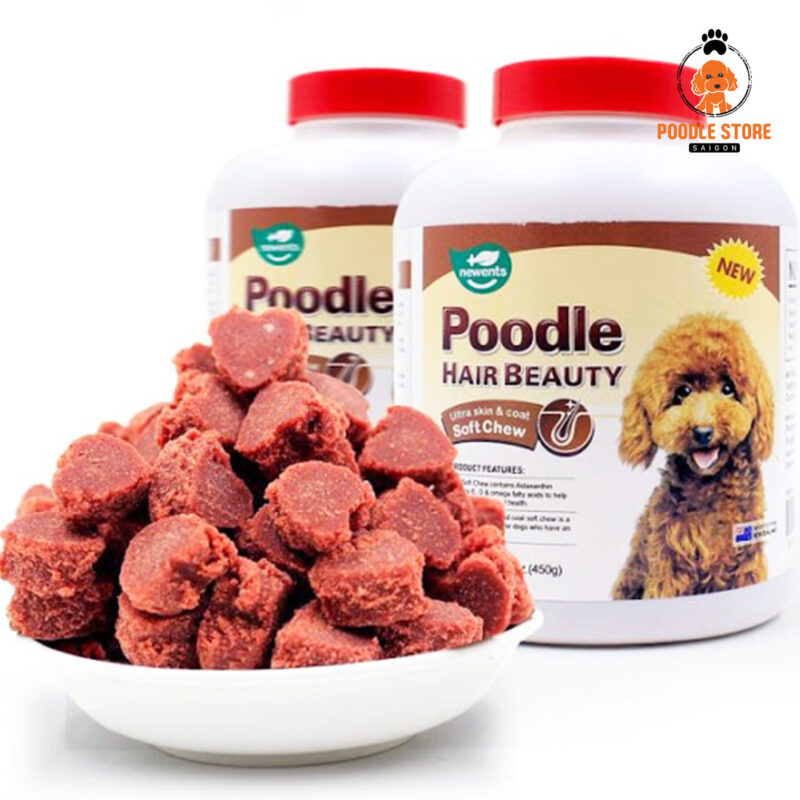 Pate cho chó Poodle trên thị trường