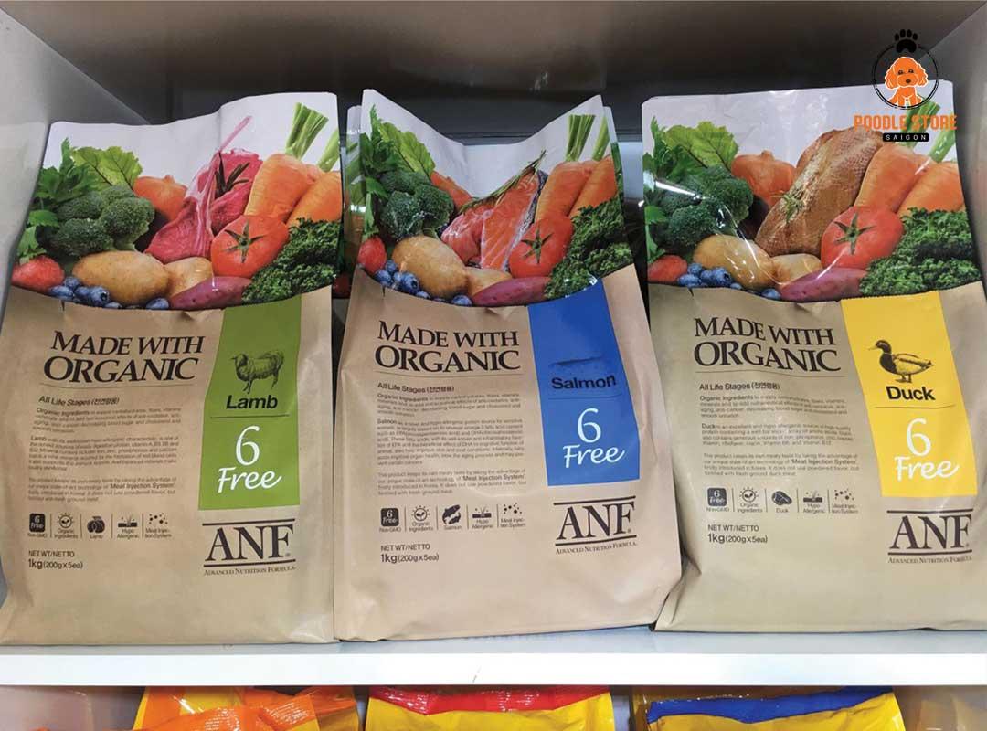 Hạt ANF cũng là một loại hạt trả lời cho câu hỏi Poodle ăn loại hạt nào?