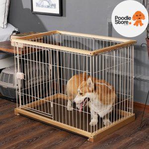 Quây Gỗ Láp Ráp Cho Chó Mèo