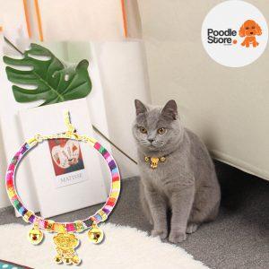 Vòng Cổ Thổ Cẩm Cho Chó & Mèo